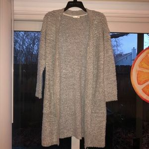 Soft and cozy long cardigan